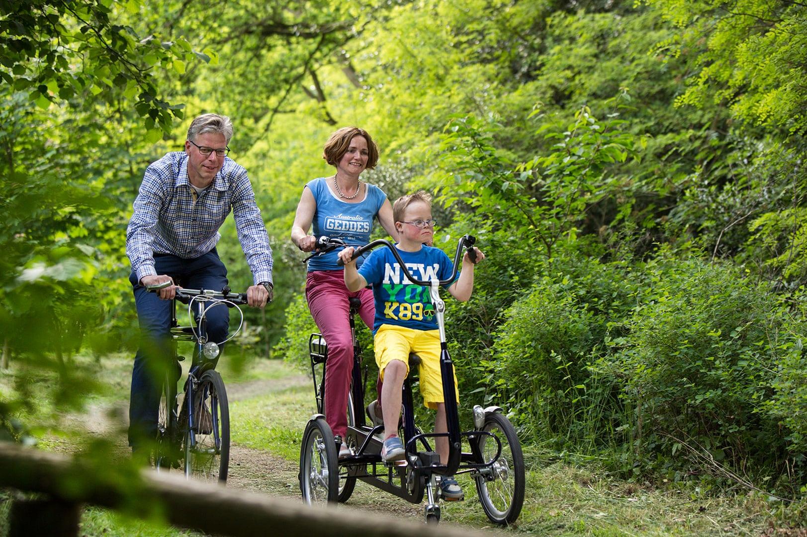 tandem fiets voor kind