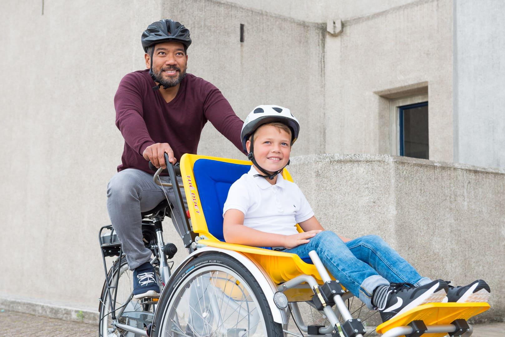 rolstoelfiets elektrisch