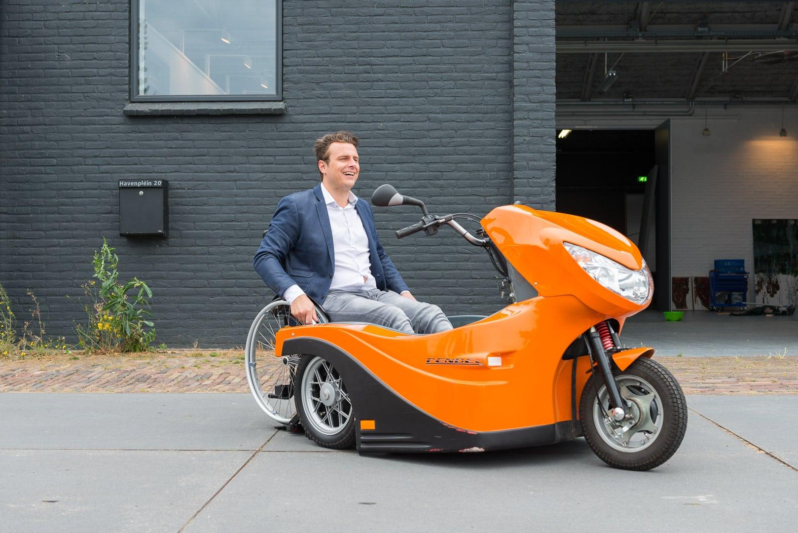 Rolstoelscooter Pendel