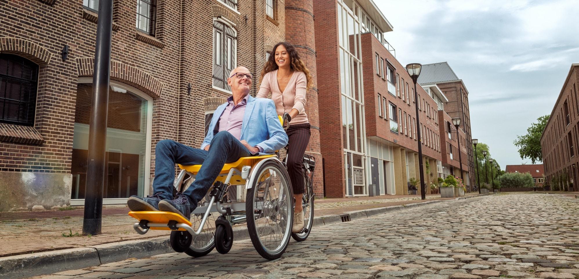 Elektrische rolstoelfiets kopen