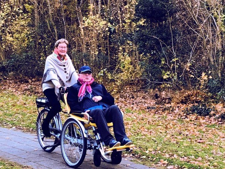 rolstoelfiets duet