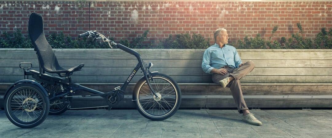 elektrische driewieler Cortes
