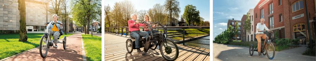Driewieler fiets ouderen