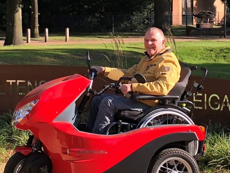 Rolstoelscooter Pendel Borne