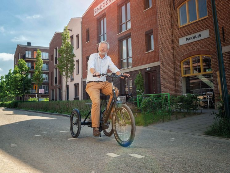 fiets met trapondersteuning